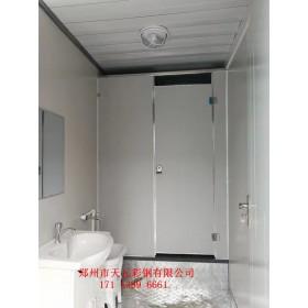 天元打包厢厂家:打包厢厕所成为城市发展的一部分