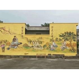 安顺美丽乡村墙体彩绘,把小事当大事干