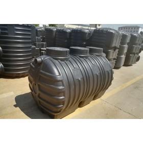 湖北龙康PE吹塑一体式三格化粪池-污水处理产品制造商