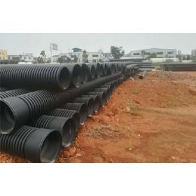 湖北龙康HDPE双壁波纹管-排水排污排气管-大流量阻力小